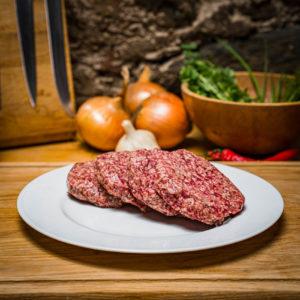 Organic Aberdeen Angus Beefburger