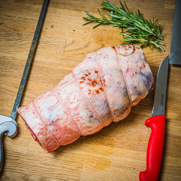 Organic home bred Boneless Leg of Lamb (25.12)
