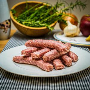 Organic rare breed Gluten Free Pork Sausages (25.12)