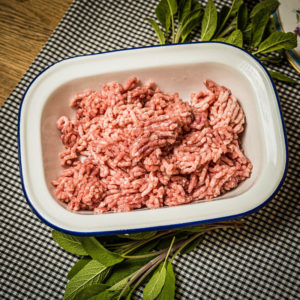 Organic rare breed Pork Mince (25.12)
