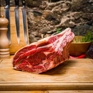 Organic Aberdeen Angus Rib of Beef on the bone (25.12)