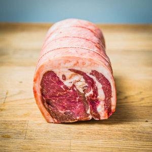 Organic home bred lamb noisette