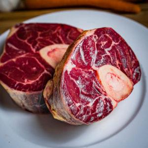 Organic Aberdeen Angus Beef Shin on the bone