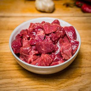 Organic Aberdeen Angus Stewing steak (25.12)