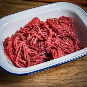 Organic Aberdeen Angus Steak mince (25.12)