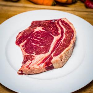 Organic Aberdeen Angus Rib-eye steak (25.12)