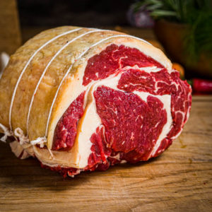 Organic Aberdeen Angus Rolled Rib of beef (25.12)